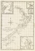 Carte de la Nouvelle Zéelande.