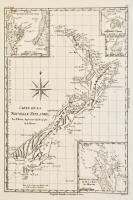 Carte de la Nouvelle Zéelande