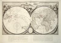 Nouvelle Mappe Monde dedièe au progrès de nos connoissances.