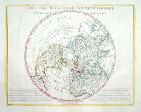 Emisfero terrestre meridionale (e) settentrionale.
