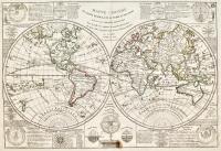 Mappe-Monde ou carte générale de la terre et des mers...