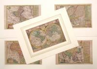 Globus terrestris; Africa; America; Asia; Europa