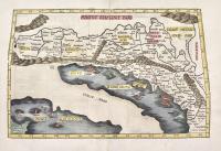 Europae Tabula quinta continet Rhetiam & Vindeliciam, Noricum, Pannoniam superiorem, Pannoniam inferiorem, Illyridem, Liburniam, & Dalmatiam.