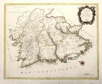 Nouvelle carte de l'Istrie suivant le plan dressée sur les lieux.