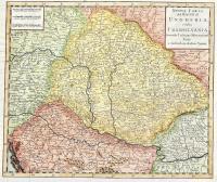 Nuova carta del regno di Ungheria e della Transilvania.