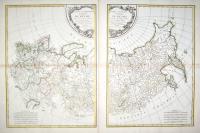 Partie occidentale (et orientale) de l'empire de Russie extraict de l'Atlas Russien et d'autres cartes.