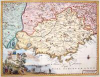 Carta geografica del Governo della Provenza