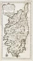 Nouvelle carte de l'Isle de Corse.