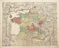 Le Royuame de France et le conquetes de Louis le Grand.