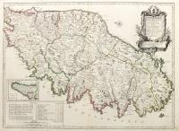 Carte particuliere de l'isle de Corse