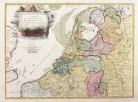 Partie septentrionale des Pays Bas comprenant les Etats generaux des Provinces Unies.