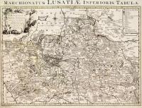 Marchionatus Lusatiae inferioris tabula