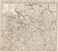 Partie meridionale du Cercle de Haute Saxe ou sont compris le Duché et Electorat de Saxe, Le Cercle de Meissen, Lusace, Thuringe Ecc.