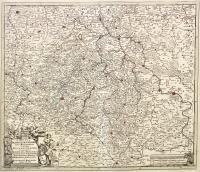 Circuli Saxoniae Superiori (sic) pars meridionalis in qua sunt Ducatus Saxoniae, Comitatus Mansfeldiae et Voitlandiae...