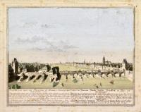 Prospectus pontis lapidei inter Francofortum ad Moenun et suburbium quod Sachsenhausen vocant