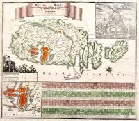 Melite vulgo Malta cum vicinis Goza quae olim Gaulos, et Comino insulis uti exhibetur a Nic. De Fer.