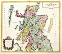 L'Ecosse divisée en Shires ou Comtés.