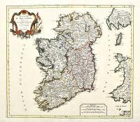 Royaume d'Irlande divisé en ses quatre provinces