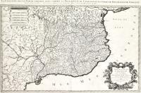 La Catalogne sous le nom de laquelle sont compris la principauté de Catalogne et les Comtés de Roussillon et de Cerdagne.