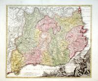 Principatus Cataloniae nec non Comitatuum Ruscinonensis Et Cerretaniae Nova Tabula . . .