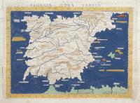 Hispania nova tabula.