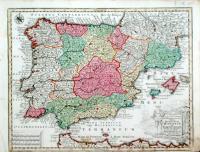 Novissima et accuratissima Regnorum Hispaniae et Portugalliae…