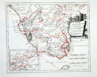 Des Koenigreichs Sevilla Südöstlicher Theil mit der Stadt und dem Gebiethe Antequera.