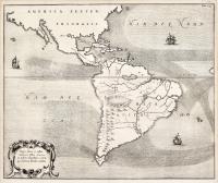 Mappa Fluxus et reflxu rationes in Isthmo America no in Freto Magellanico, Caeteris que Americae Littoribus exhibens.