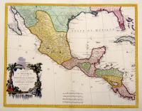 Carte du Mexique et de la Nouvelle Espagne.