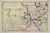 Partie occidentale du Canada contenant les cinqs grands lac, avec les Pays criconvoisins