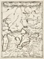 Carta rappresentante i cinque Laghi del Canada