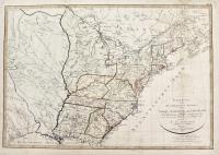 Charte von den vereinigten staaten von Nord America nebst Louisiana.