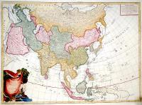 L'Asie divise en ses principaux Etats.