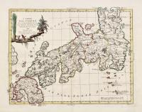 L'Impero del Giapon diviso in sette principali parti...