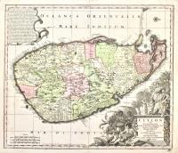 Ceylon olim Taprobana.