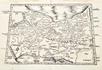 Asia Tabula Quinta continentur Assyria, Media, Susiana, Persis, Parthia, Carmania deserta, & Hyrcania.