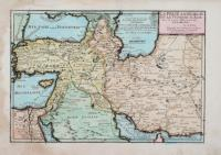 La Perse, La Georgie et la Turquie d'Asie avec la partie septentrionale de l'Arabie.