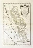 Karte von dem groessten Theil des Landes Jemen, Imame, Kaukenban.