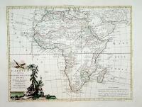 L'Africa divisa ne' suoi principali stati di nuova projezione.