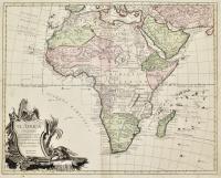 El Africa dividida en todos sus principales reynos segun las ultimas y nuevas observaciones de las Accademias y de Paris y de Londres.