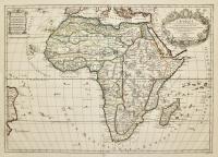 L'Afrique divisée suivant l'estendue de ses principales parties...