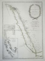 Karte des Arabischen Meerbusens oder des Rothen Meeres.