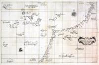 Carta particolare della Barberia occidentale che comincia con il capo Gruer e finisce con il Capo Marras.