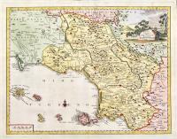 Carta geografica della Terra di Lavoro o sia della Campagna felice.
