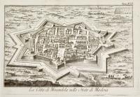 La città di Mirandola nello Stato di Modena