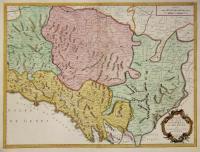 Carte des Etats de Parme et de Modene avec la partie orientale de la riviere de Gènes.