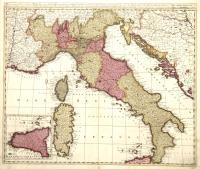 Italia, divisa in Statum Ecclesiasticum Regnum Neapolitanum….