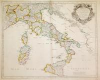 L'Italie et les Isles circomvoisines Siclile, Sardegne, Corse…