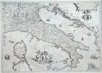 Italiae novissima descriptio avctore Iacobo Castaldo Pedemontamo.