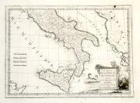 Li regni di Napoli e di Sicilia divisi nelle loro provincie.